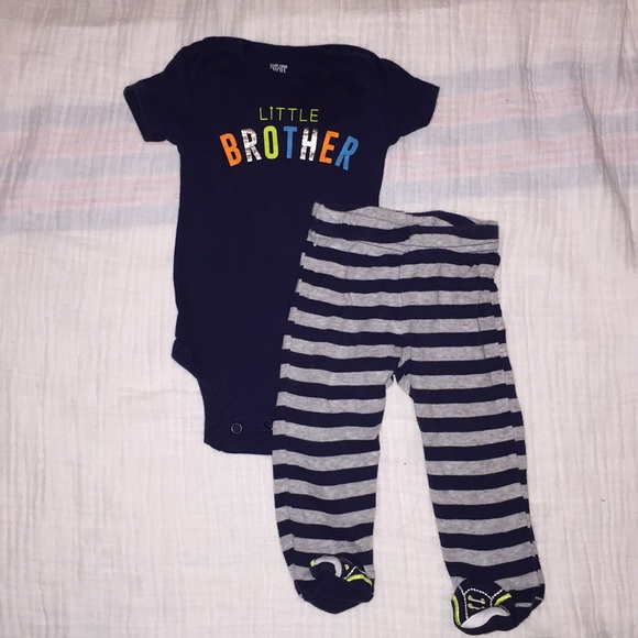 6c1ae65c3 Carter's Matching Sets | Carters 2 Piece Little Brother Outfit Size ...